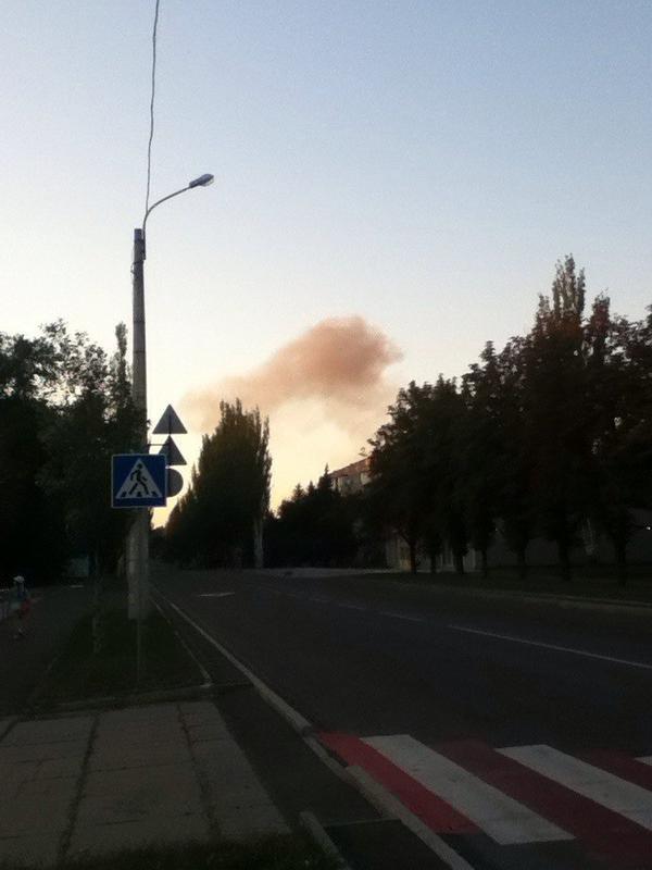 Донецк потряс страшный взрыв - взрывная волна прошлась по всему городу (ФОТО) (фото) - фото 4