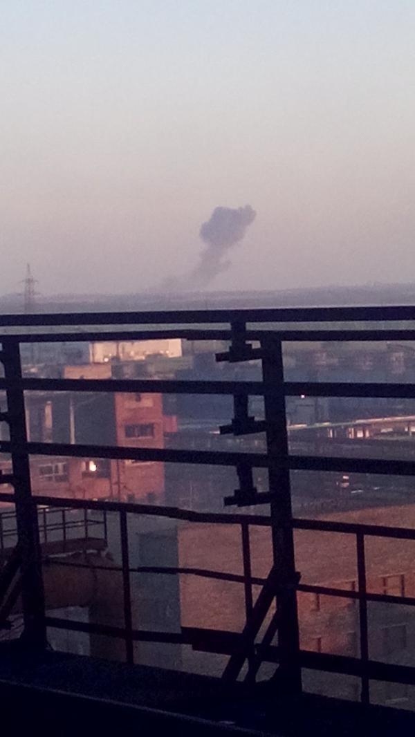 Донецк потряс страшный взрыв - взрывная волна прошлась по всему городу (ФОТО) (фото) - фото 1