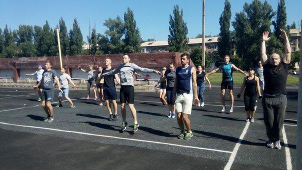 В Кривом Роге ушпешно поведена первая открытая тренировка по кроссфиту  (ФОТО) (фото) - фото 1
