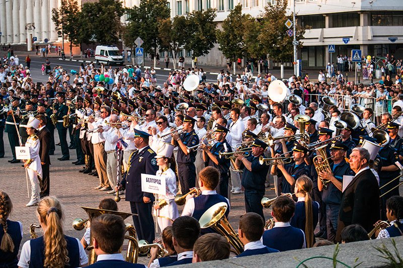 День города собрал на улицах и площадях тысячи белгородцев, фото-1