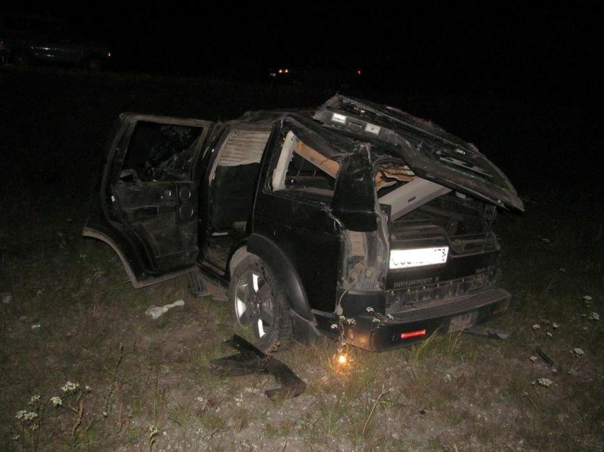 В ночной аварии двое погибли, трое - в больнице (фото) - фото 1