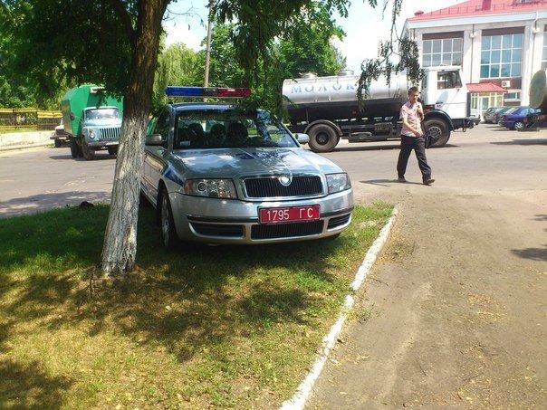 Гомельчанин сфотографировал парковку автомобиля ГАИ на газоне и вызвал нешуточную дискуссию (фото) - фото 3