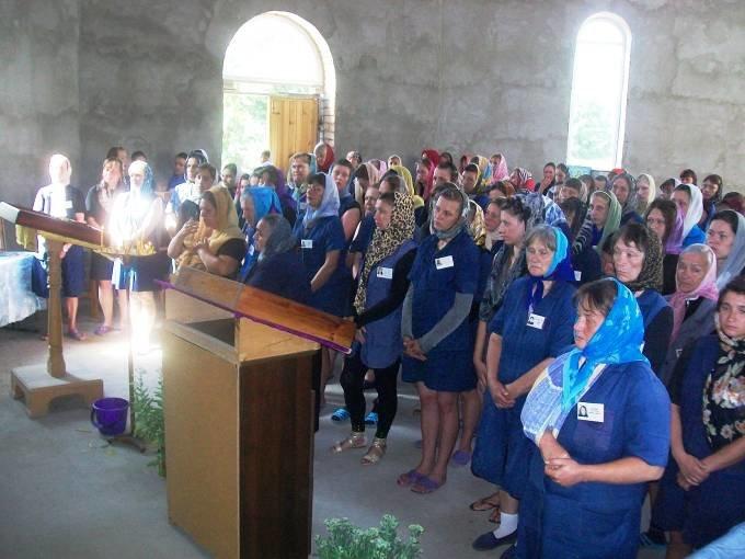В Днепродзержинской исправительной колонии состоялся храмовый праздник (фото) - фото 2