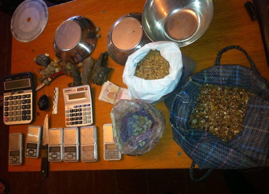 В Олевському селі в скупників «сонячного каменю» вилучено майже десять кілограмів бурштину, фото-1
