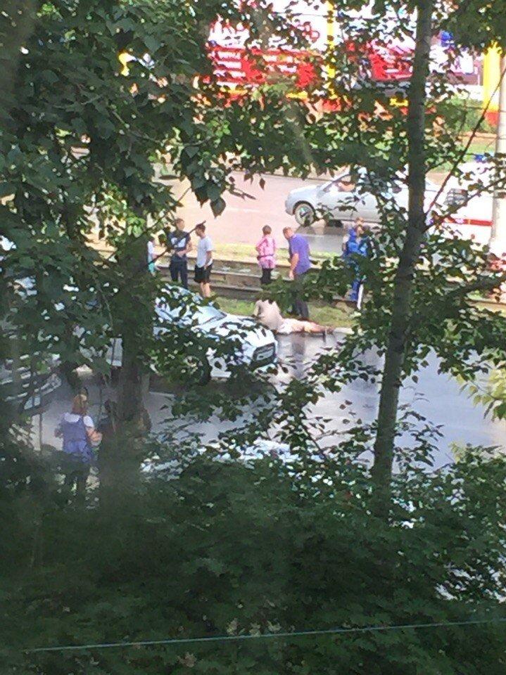 На ул. Октябрьская снова сбили пешехода (фото) - фото 1