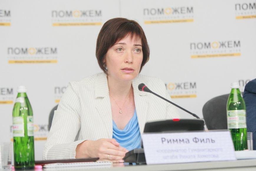 Римма Филь, координатор Гуманитарного штаба