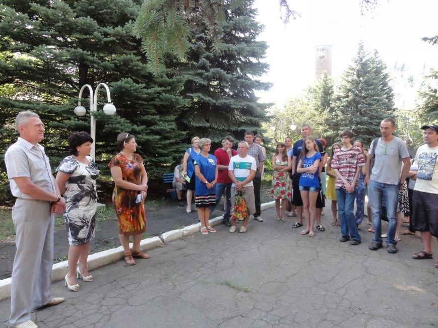 В Славянском троллейбусном управлении прошел день открытых дверей (фото) - фото 1