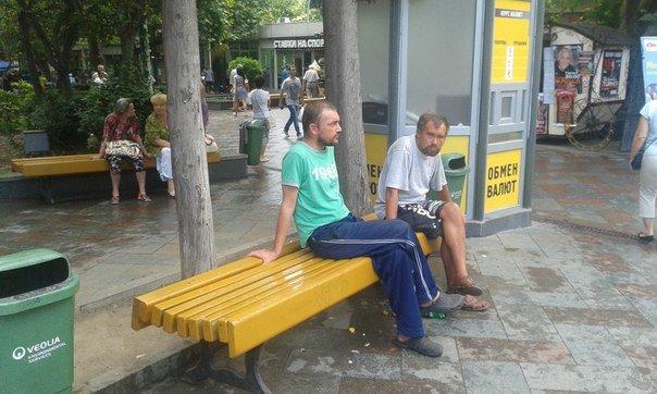 Ялту заполонили бомжи: фотофакты от наших читателей (фото) - фото 1