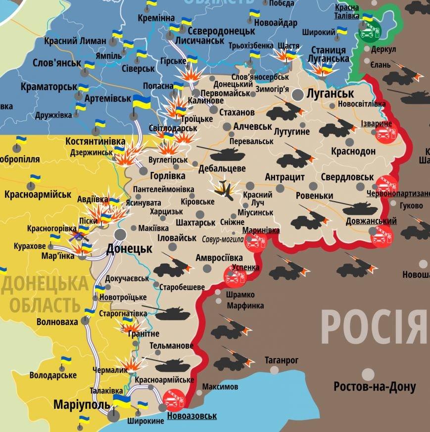 Под Мариуполем боевики обстреляли Чермалык и Новогригорьевку (КАРТА), фото-1