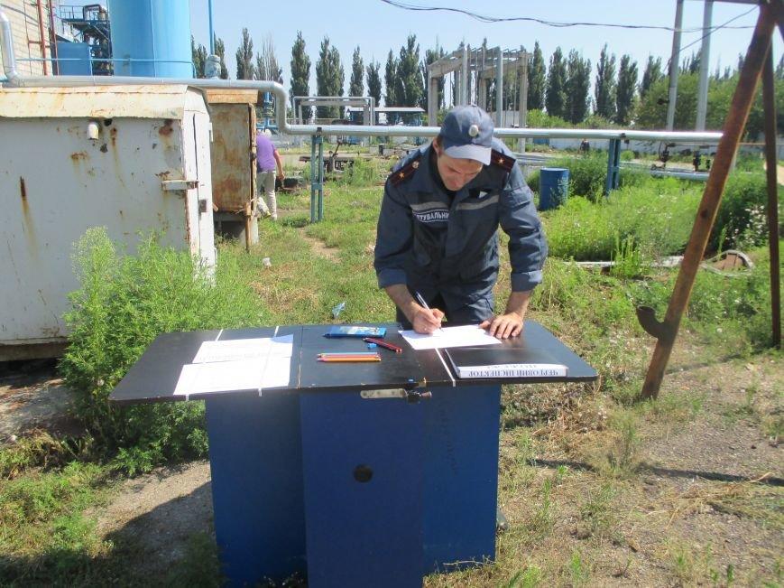 На территории кременчугского предприятия взорвалась цистерна с мазутом (ФОТО), фото-15