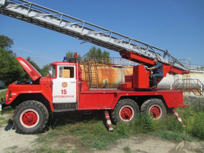 На территории кременчугского предприятия взорвалась цистерна с мазутом (ФОТО), фото-19