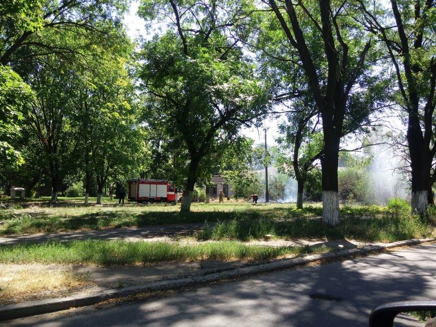 В Мариуполе на территории горбольницы №3 произошел пожар (ФОТОФАКТ), фото-4