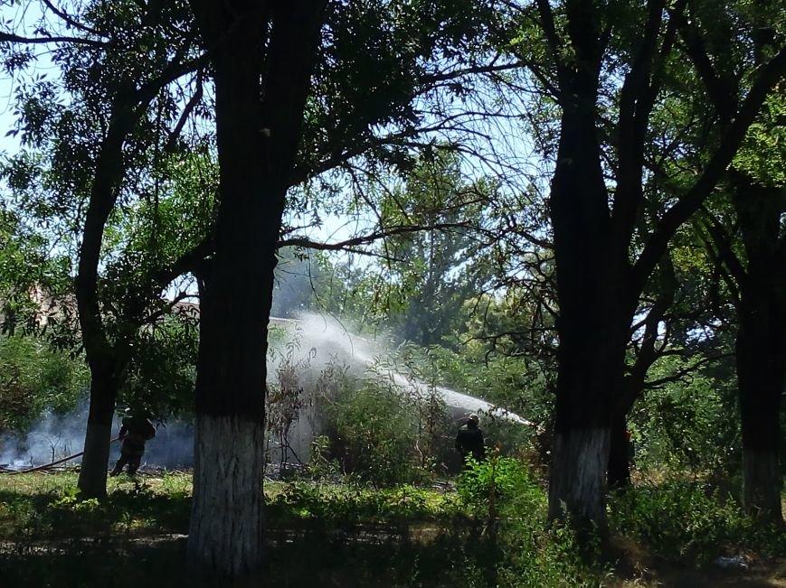В Мариуполе на территории горбольницы №3 произошел пожар (ФОТОФАКТ), фото-2