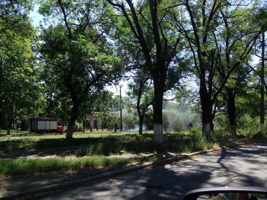 В Мариуполе на территории горбольницы №3 произошел пожар (ФОТОФАКТ), фото-5