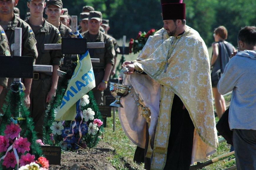 Под Запорожьем неопознанных солдат похоронили через год после гибели (ФОТОРЕПОРТАЖ), фото-19