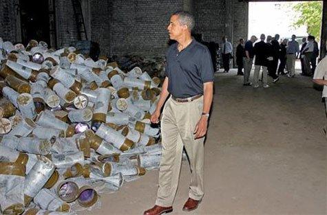 Что осталось от Донецкого завода химических изделий, по которому гулял Обама (ВИДЕО) (фото) - фото 1