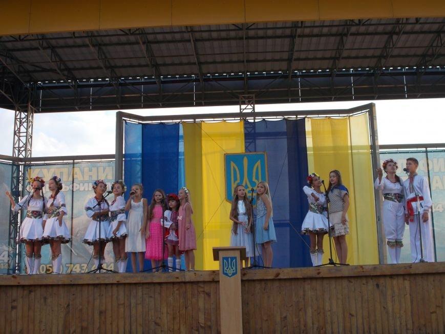 Бердянцы отметили День Независимости (фото) - фото 10