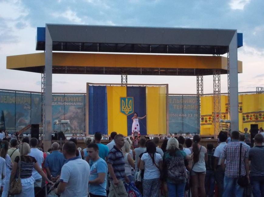 Бердянцы отметили День Независимости (фото) - фото 12