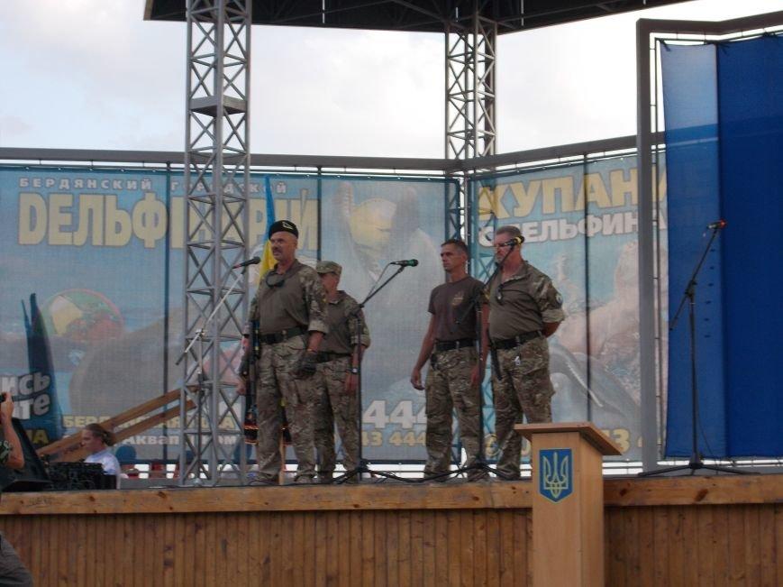 Бердянцы отметили День Независимости (фото) - фото 9