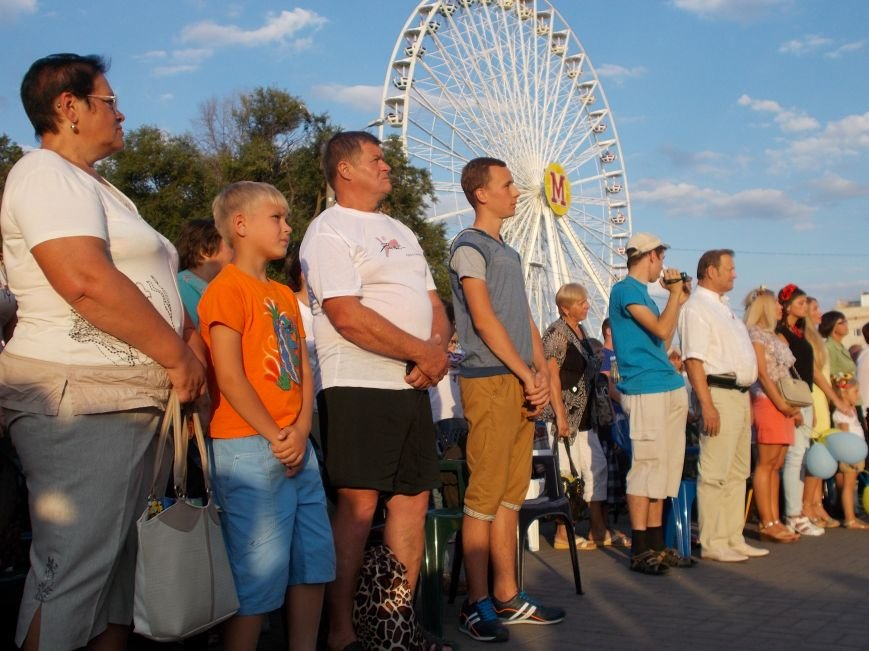 Бердянцы отметили День Независимости (фото) - фото 8