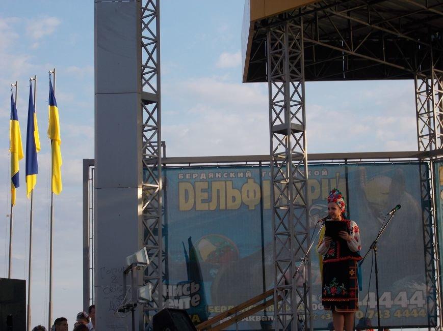 Бердянцы отметили День Независимости (фото) - фото 2