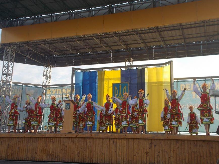 Бердянцы отметили День Независимости (фото) - фото 1