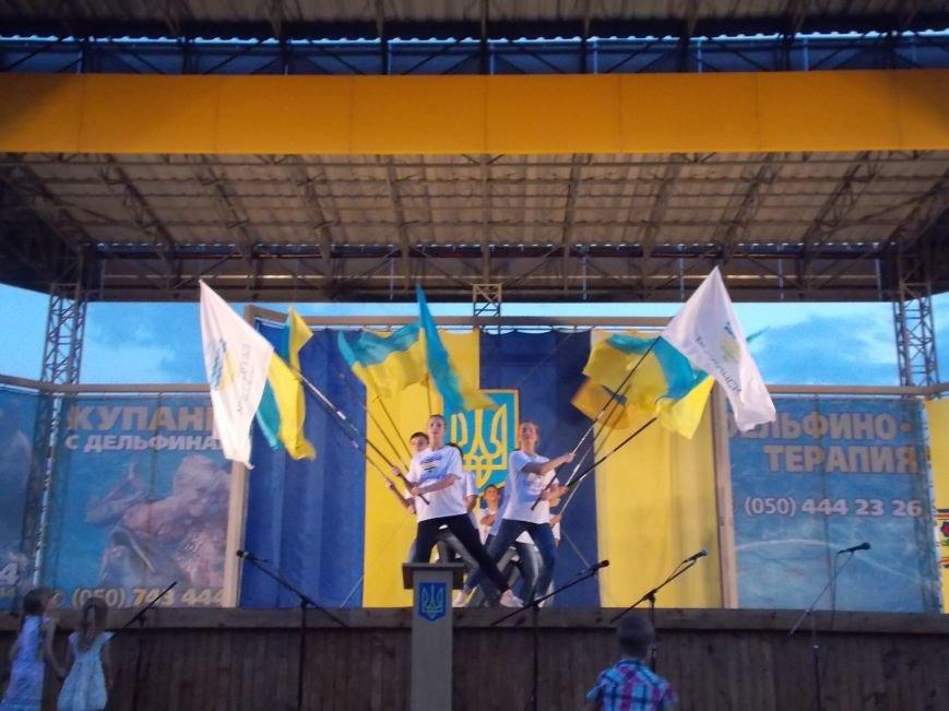 Бердянцы отметили День Независимости (фото) - фото 13