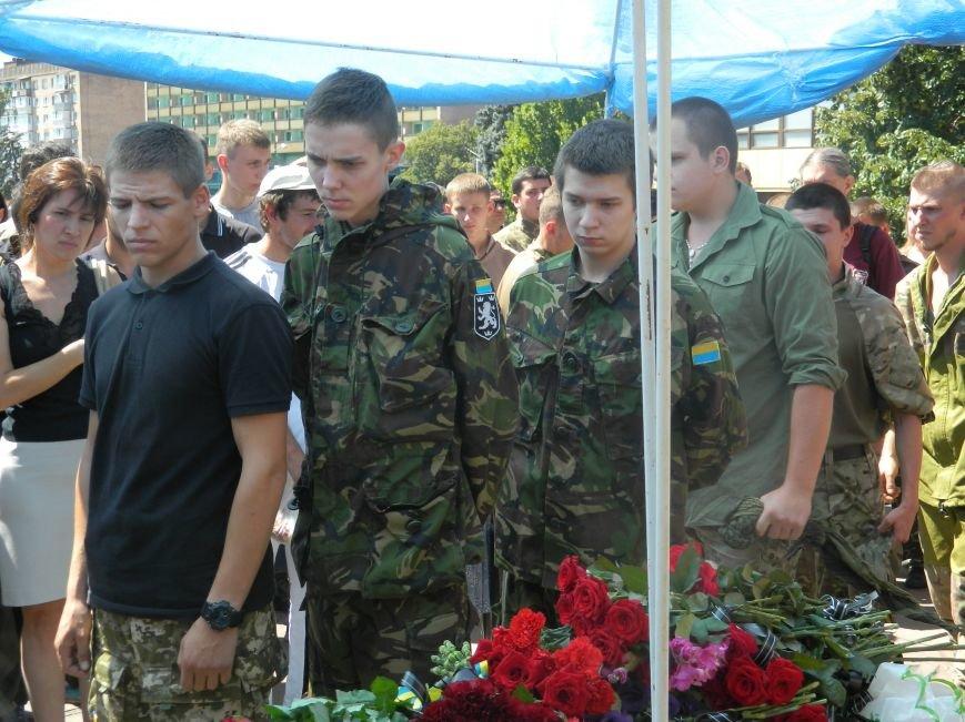 В Запорожье попрощались с 19-летним погибшим героем Данилом Касьяненко (ФОТО, ВИДЕО) (фото) - фото 15
