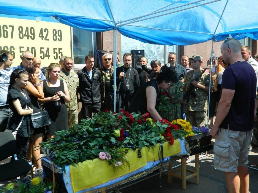 В Запорожье попрощались с 19-летним погибшим героем Данилом Касьяненко (ФОТО, ВИДЕО) (фото) - фото 8