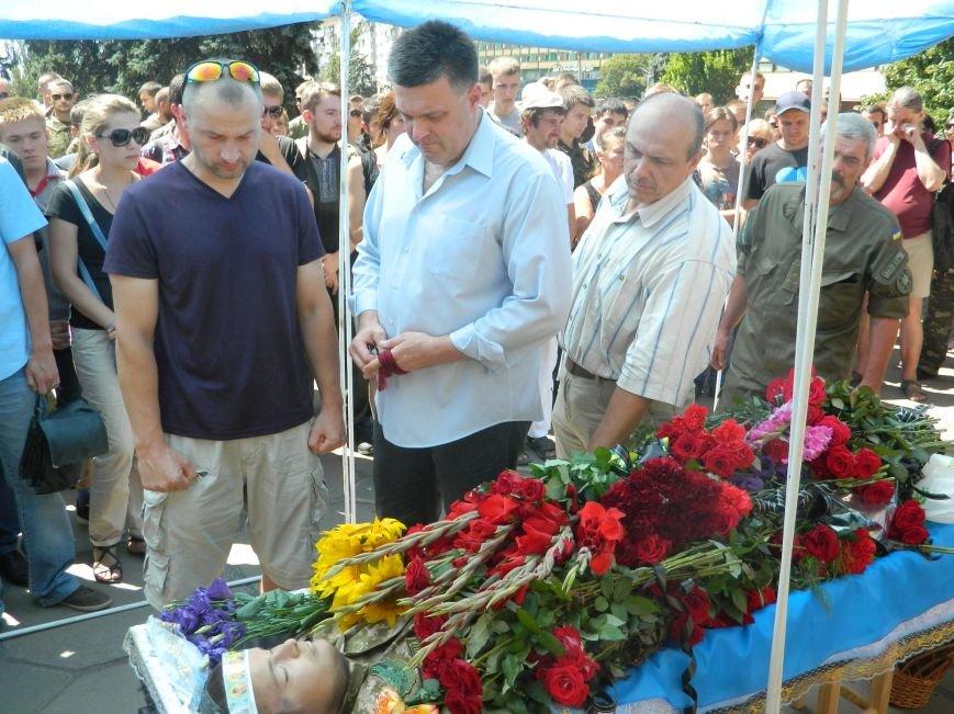 В Запорожье попрощались с 19-летним погибшим героем Данилом Касьяненко (ФОТО, ВИДЕО) (фото) - фото 14