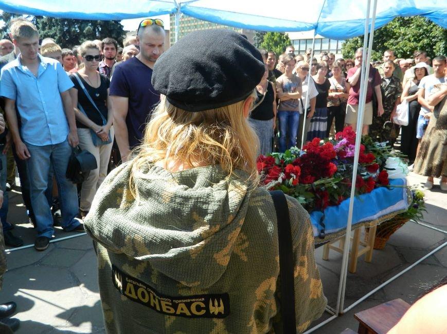 В Запорожье попрощались с 19-летним погибшим героем Данилом Касьяненко (ФОТО, ВИДЕО) (фото) - фото 12