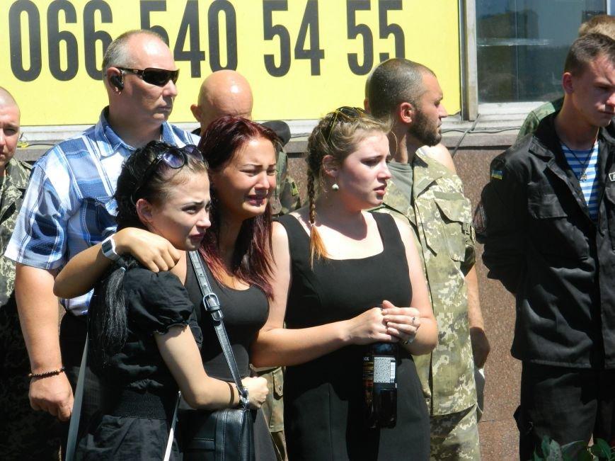 В Запорожье попрощались с 19-летним погибшим героем Данилом Касьяненко (ФОТО, ВИДЕО) (фото) - фото 11