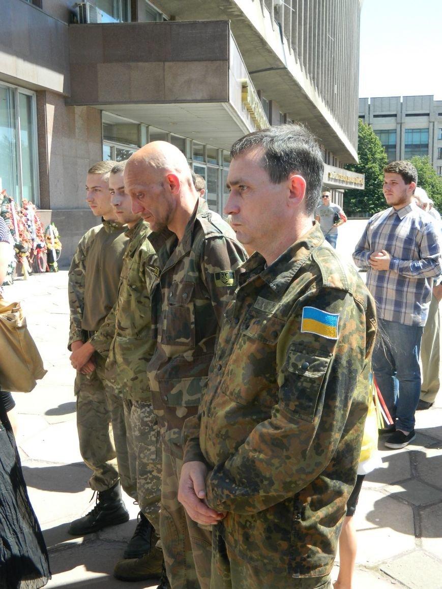В Запорожье попрощались с 19-летним погибшим героем Данилом Касьяненко (ФОТО, ВИДЕО) (фото) - фото 3