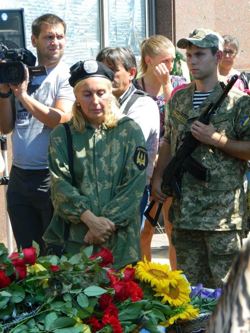 В Запорожье попрощались с 19-летним погибшим героем Данилом Касьяненко (ФОТО, ВИДЕО) (фото) - фото 10