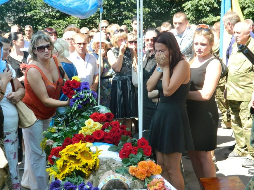 В Запорожье попрощались с 19-летним погибшим героем Данилом Касьяненко (ФОТО, ВИДЕО) (фото) - фото 6