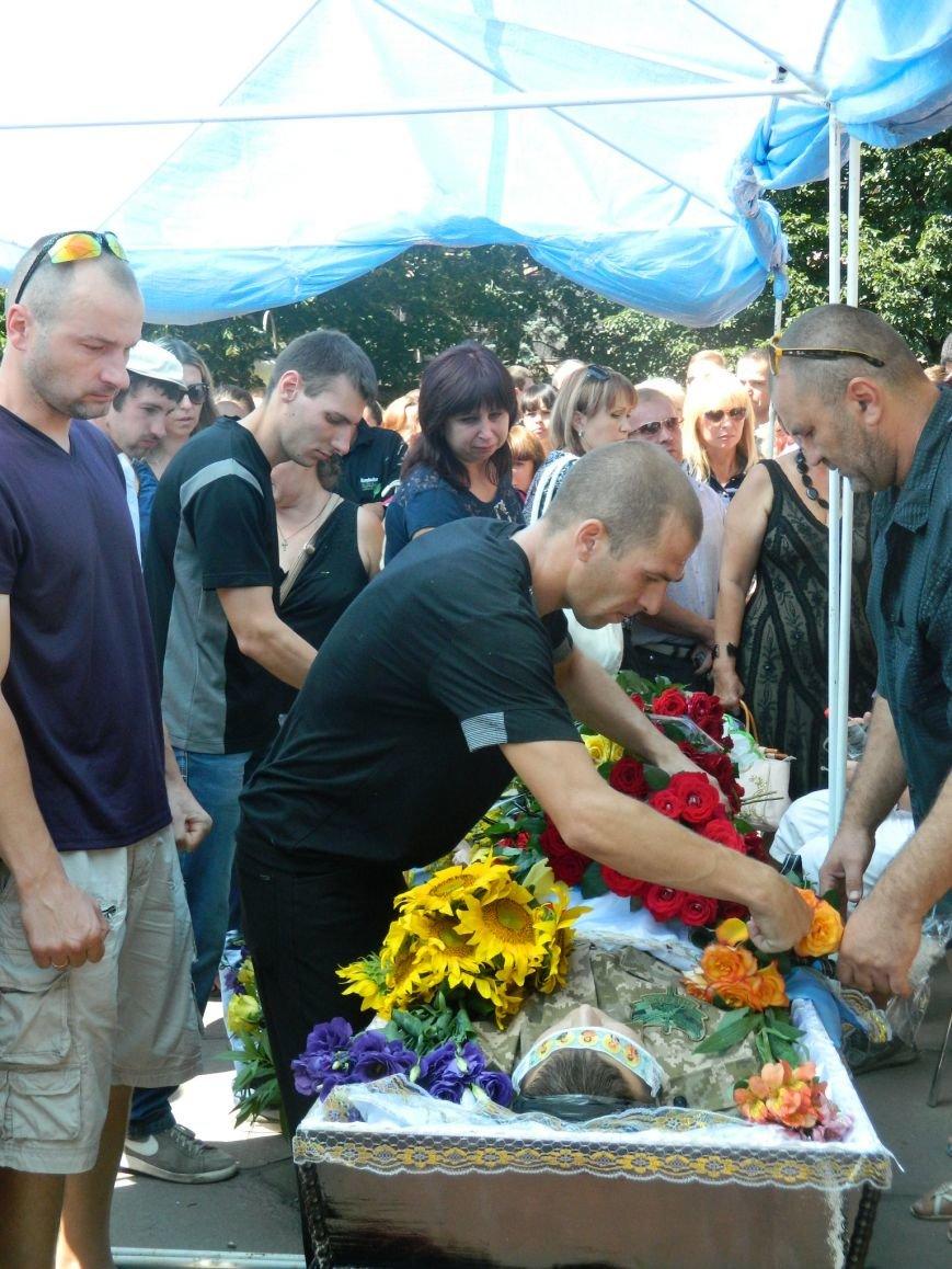 В Запорожье попрощались с 19-летним погибшим героем Данилом Касьяненко (ФОТО, ВИДЕО) (фото) - фото 5
