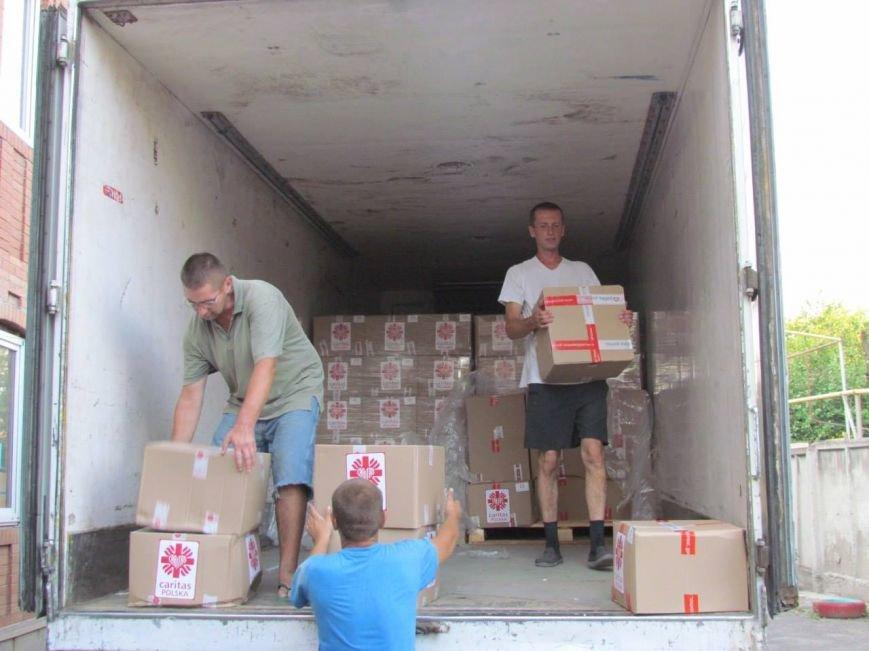В Мариуполь прибыла гуманитарная помощь для переселенцев (ФОТО), фото-4