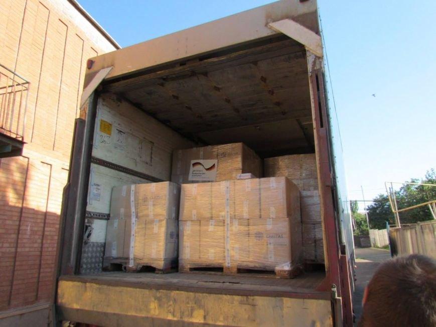 В Мариуполь прибыла гуманитарная помощь для переселенцев (ФОТО), фото-1