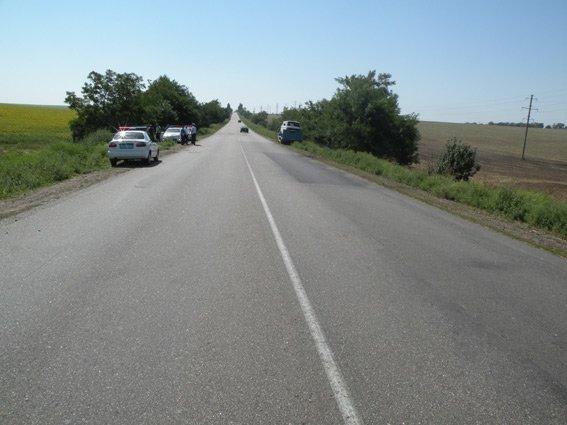 Под Николаевом микроавтобус съехал в кювет: 5 человек пострадали (ФОТО) (фото) - фото 1