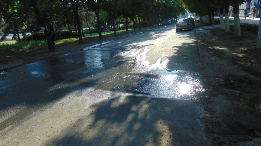 Коммунальщики нашли новаторский способ обезводить Старокрымское водохранилище (ФОТОФАКТ) (фото) - фото 1