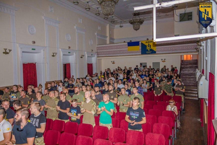 Мариупольцы смотрели фильм о пропавшем без вести бойце «Азова» (ФОТО+ВИДЕО), фото-1