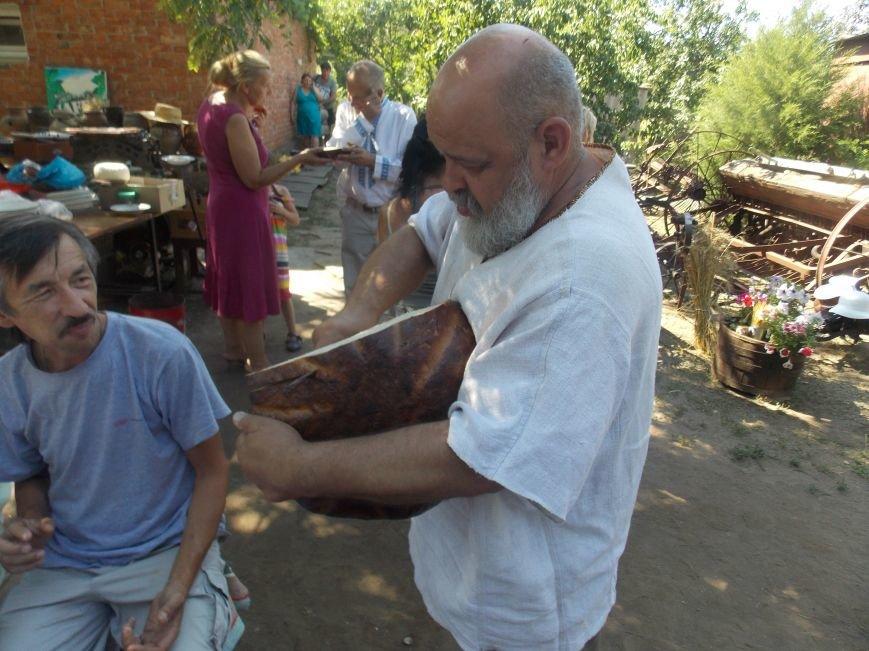 Участники бердянского семинара по прикладному искусству посетили «Сільське подвір'я» в Благовещенке (фото) - фото 14