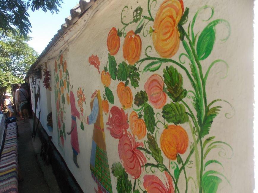 Участники бердянского семинара по прикладному искусству посетили «Сільське подвір'я» в Благовещенке (фото) - фото 3