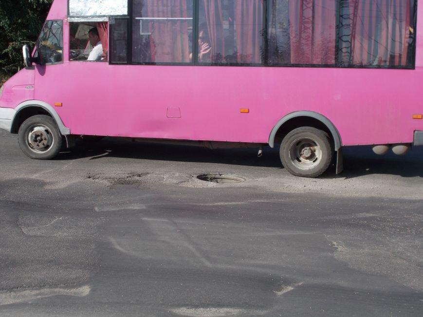 Открытые люки на дорогах в Бердянске! (фото) - фото 2