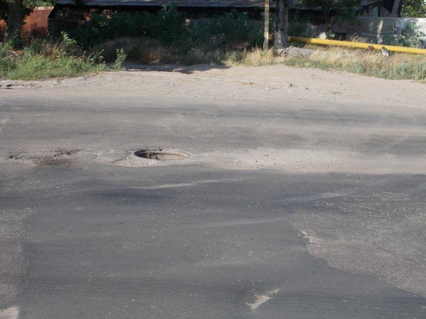 Открытые люки на дорогах в Бердянске! (фото) - фото 1