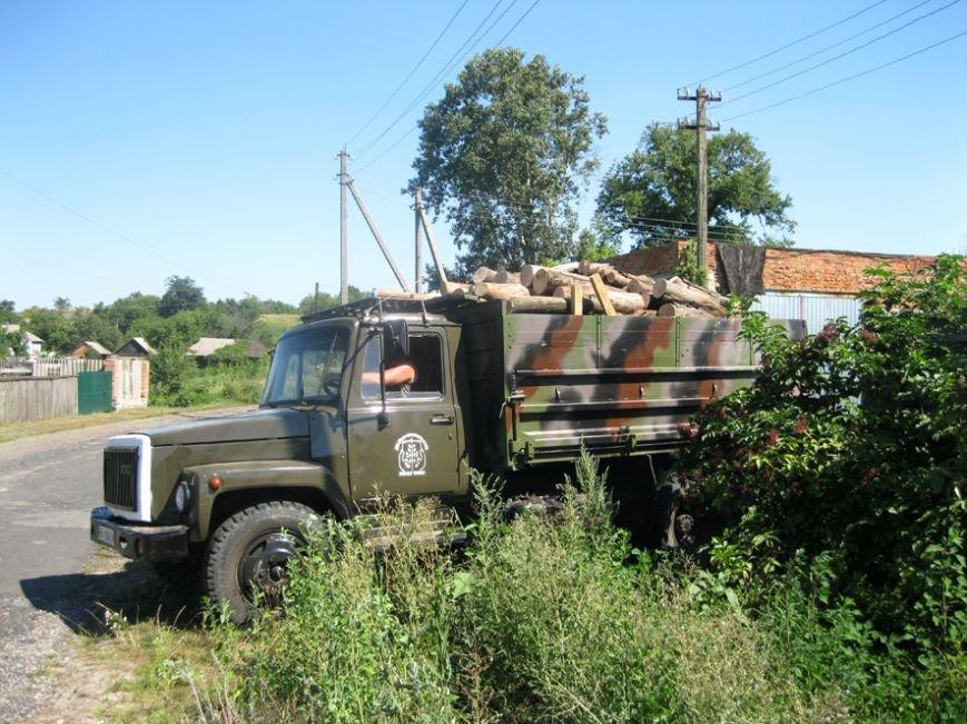 На Полтавщині почали спалювати туші інфікованих африканською чумою свиней (фото) - фото 2