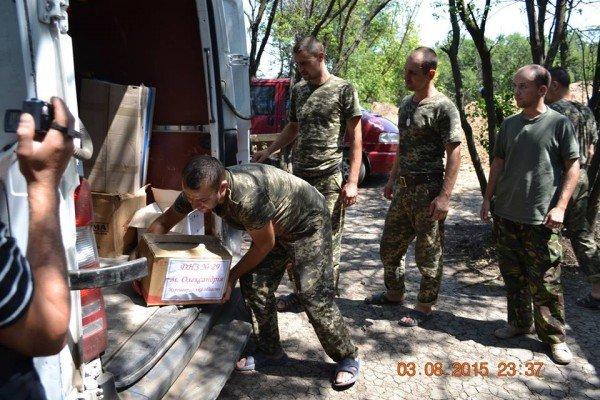 Фотозвіт доправки допомоги олександрійськими волонтерами, фото-13
