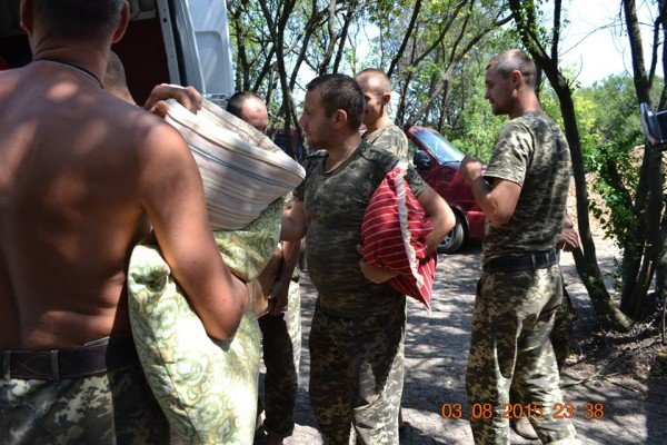 Фотозвіт доправки допомоги олександрійськими волонтерами, фото-6