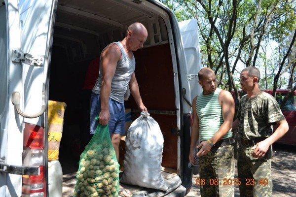 Фотозвіт доправки допомоги олександрійськими волонтерами, фото-14