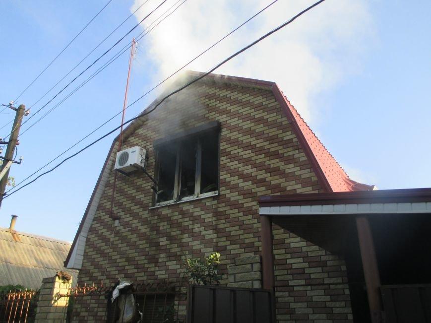 В Кривушах Кременчугского района горел дачный дом (ФОТО), фото-1